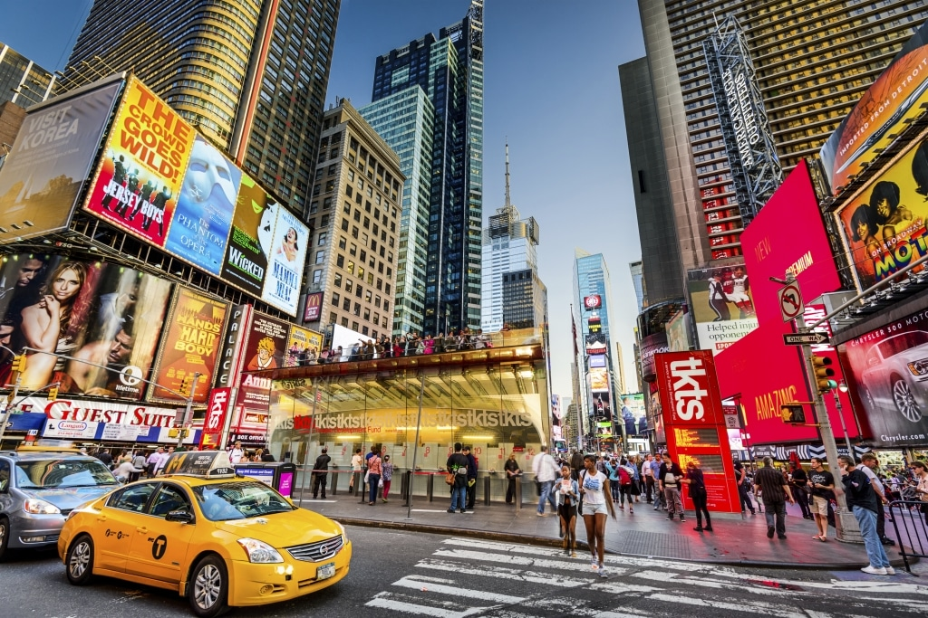Times Square in New York, Verenigde Staten