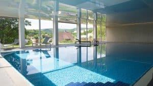 Zwembad van Hotel AM Fang in Bad Laasphe, Duitsland