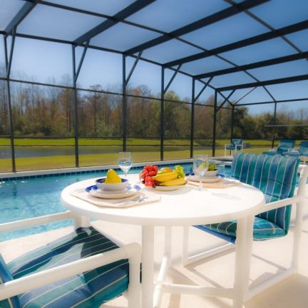 Zwembad van Orlando Villas in Kissimmee, Florida, Verenigde Staten