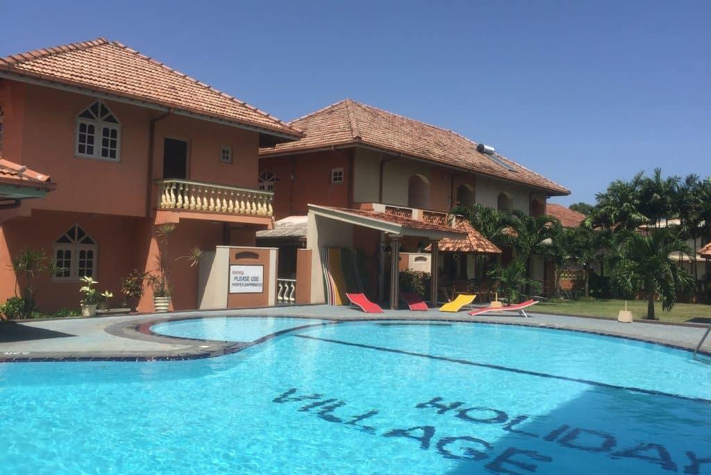 Paradise Holiday Village in Negombo, Sri Lanka