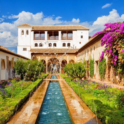 Alhambra de Granada, Spanje