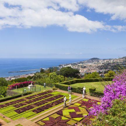 Botanische tuin op Madeira, Canarische Eilanden