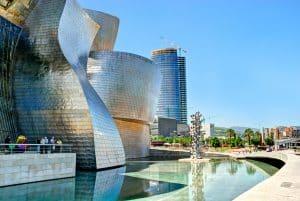 Guggenheimmuseum in Bilbao, Spanje