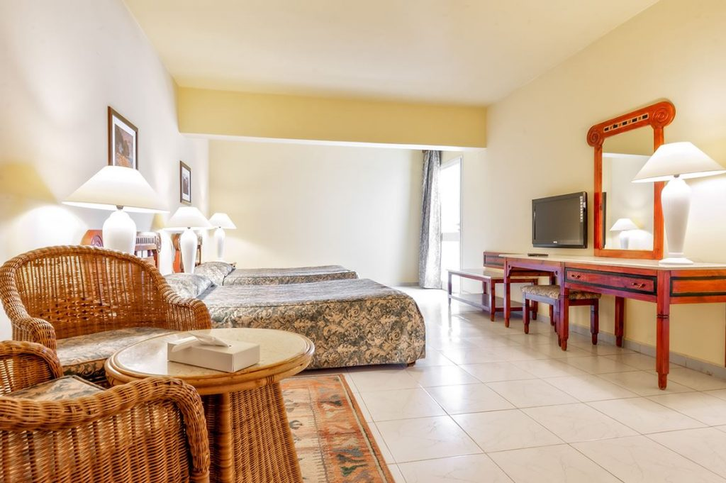 Hotelkamer van Bel Air Azur Resort in Hurghada, Egypte