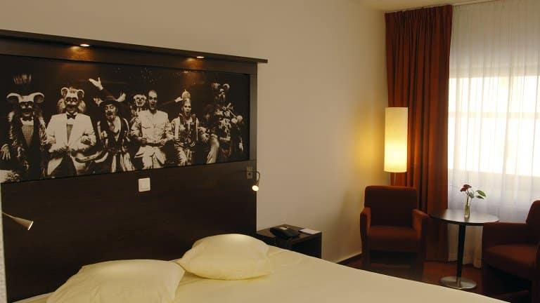 Hotelkamer van Hampshire Hotel City Hengelo in Overijssel