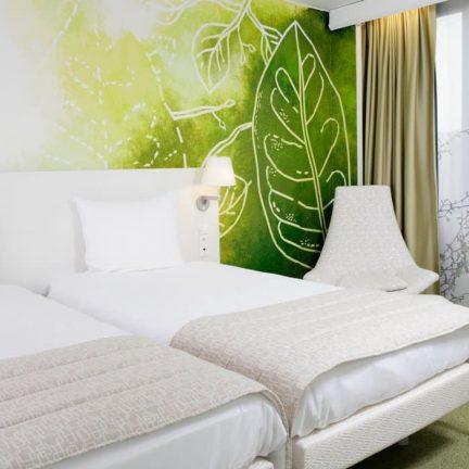 Hotelkamer van Hotel Bloom! in Brussel, België