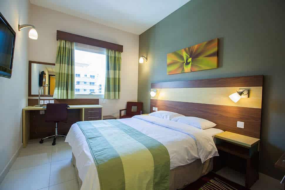 Hotelkamer van Hotel Citymax Bur Dubai in de Verenigde Arabische Emiraten