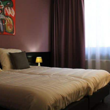 Hotelkamer van Hotel de Elderschans in Aardenburg, Zeeland