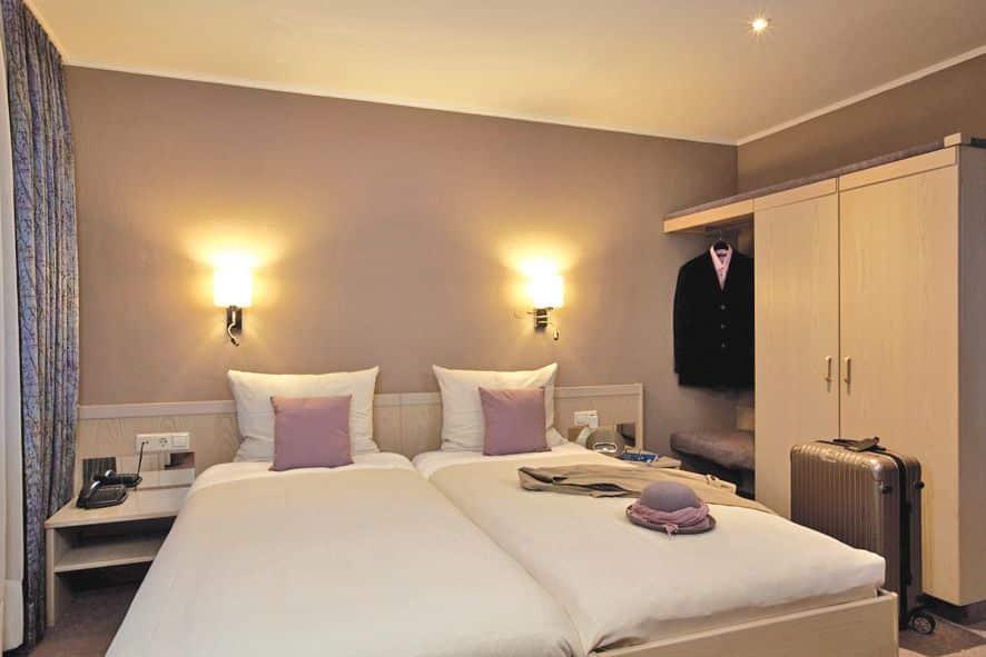 Hotel Des Nations in Clervaux, Luxemburg