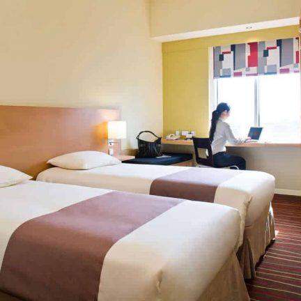 Hotelkamer van Hotel Ibis Dubai Deira City Center in Dubai, Verenigde Arabische Emiraten