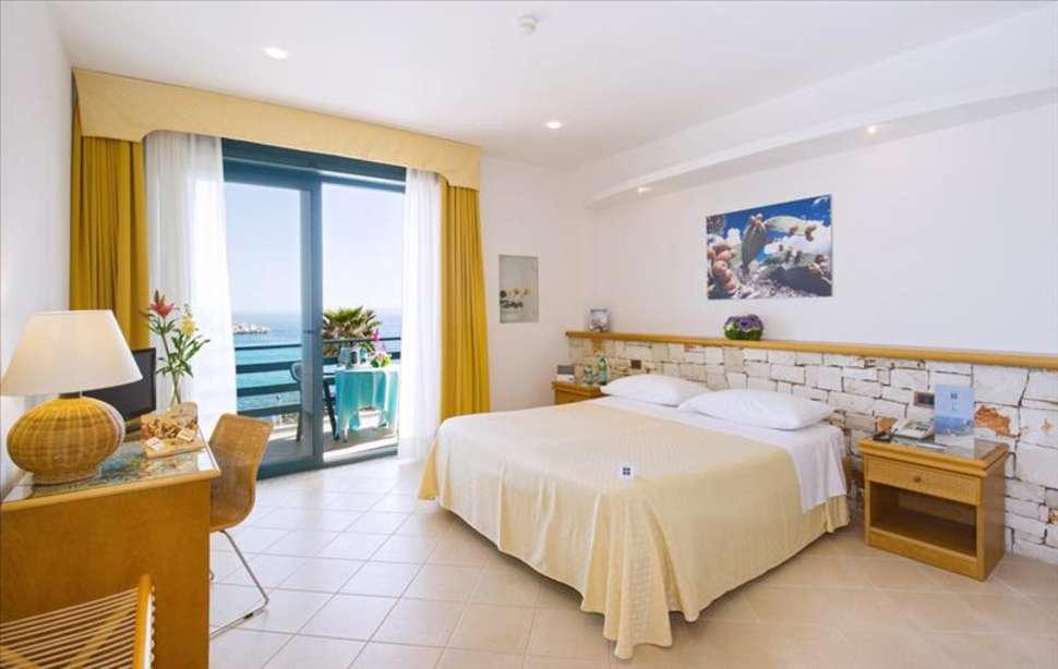 Hotelkamer van Hotel Terminal in Santa Maria di Leuca, Italië