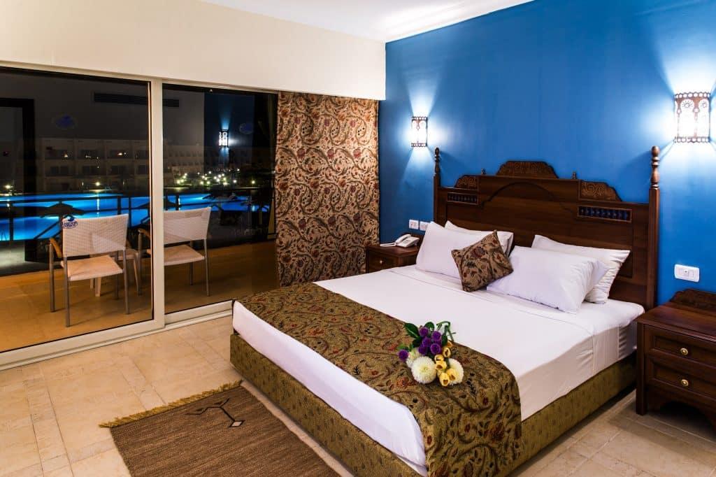 Hotelkamer van Jasmine Palace Resort & Spa in Hurghada, Egypte