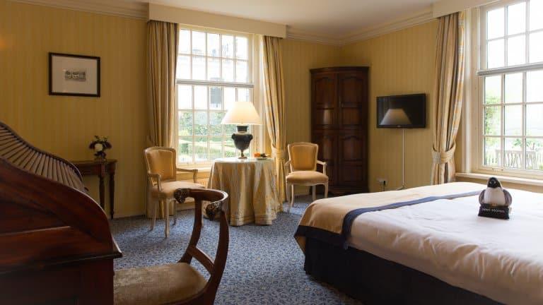 Hotelkamer van Kasteel Engelenburg in Brummen, Gelderland