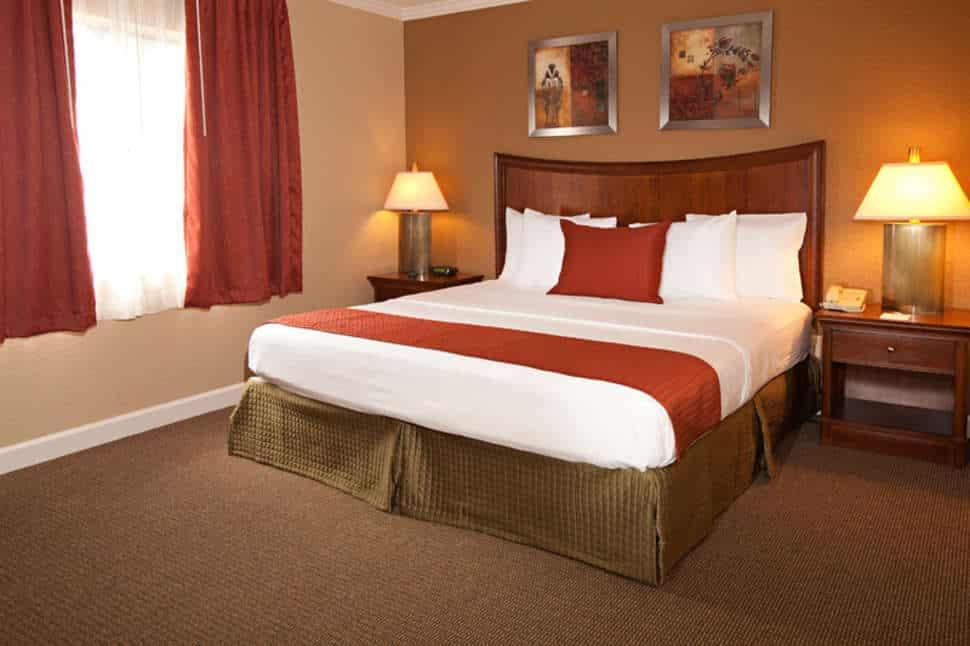 Hotelkamer van Legacy Vacation Resort in Orlando, Florida, Verenigde Staten