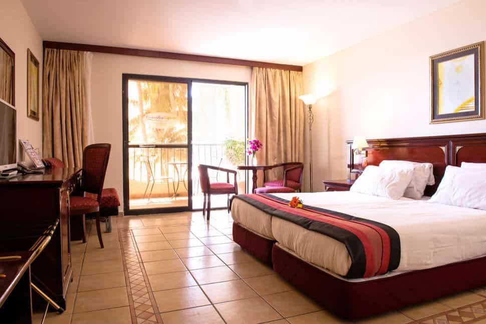 Hotelkamer van Ocean Bay Hotel in Bakau, Gambia