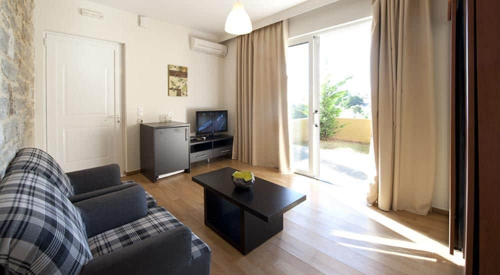 Hotelkamer van Rimondi Grand Resort & Spa in Stavromenos, Kreta