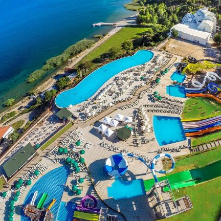 Izgrez Spa & Aquapark in Struga, Macedonië