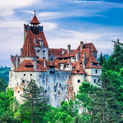 kasteel bran kasteel van dracula in transsylvanie roemenie