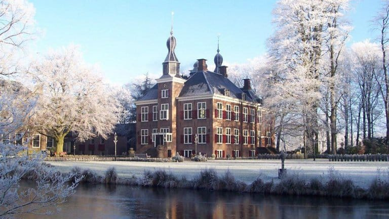 Kasteel de Essenburgh in Hierden, Veluwe, Gelderland