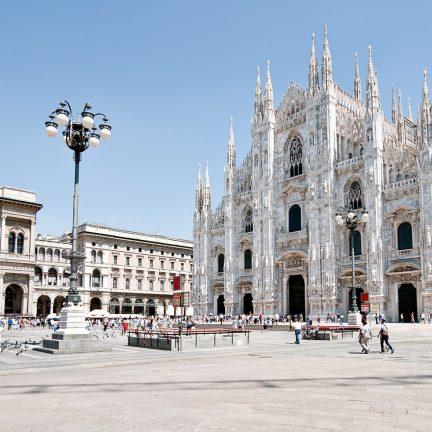 kathedraal in milaan italie