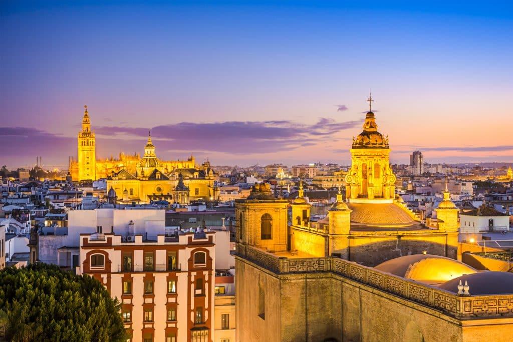 Kathedraal in Sevilla, Spanje