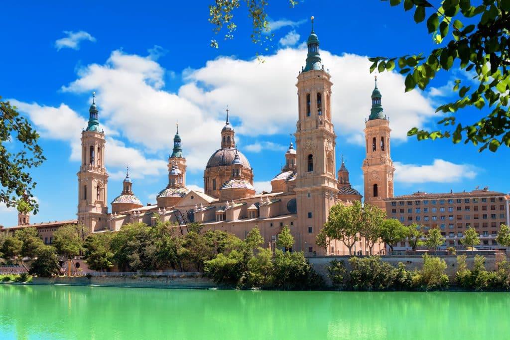 Kathedraal in Zaragoza, Spanje