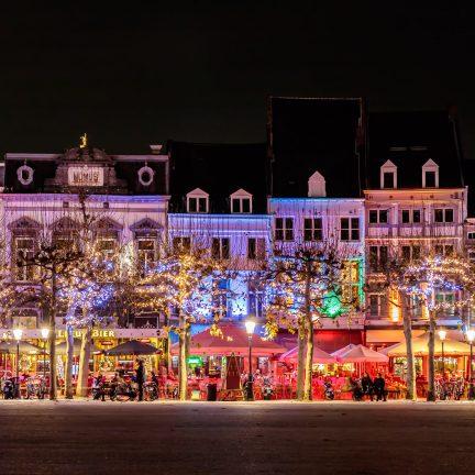 Kerstverlichting in Maastricht, Limburg