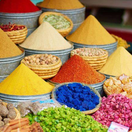 kruiden specerijen markt marrakech marokko 2