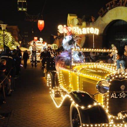 Lichtjesparade van Attractie en Vakantiepark Slagharen