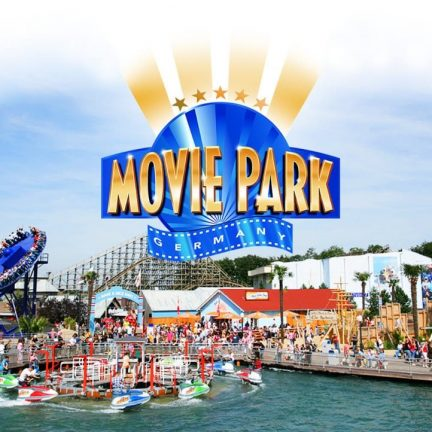 Movie Park Germany in Bottrop, Duitsland
