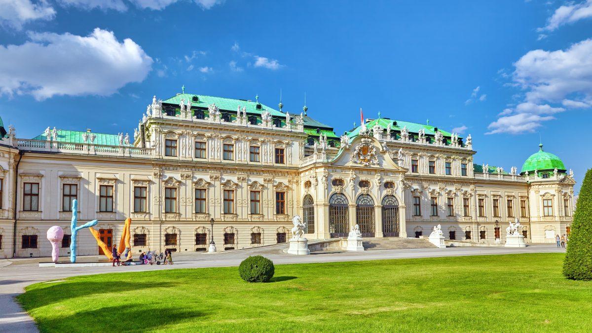 Museum Belvédère in Wenen, Oostenrijk