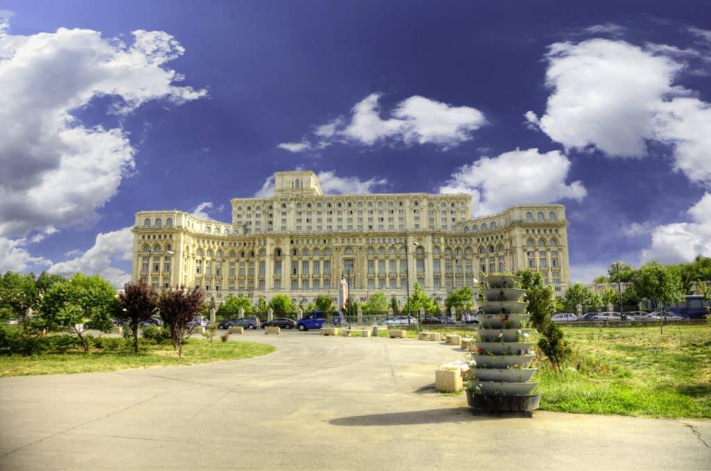 Parlementspaleis in Boekarest, Roemenië