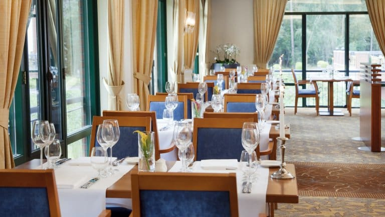 Restaurant van Bilderg Residence Groot Heideborgh in Garderen, Gelderland