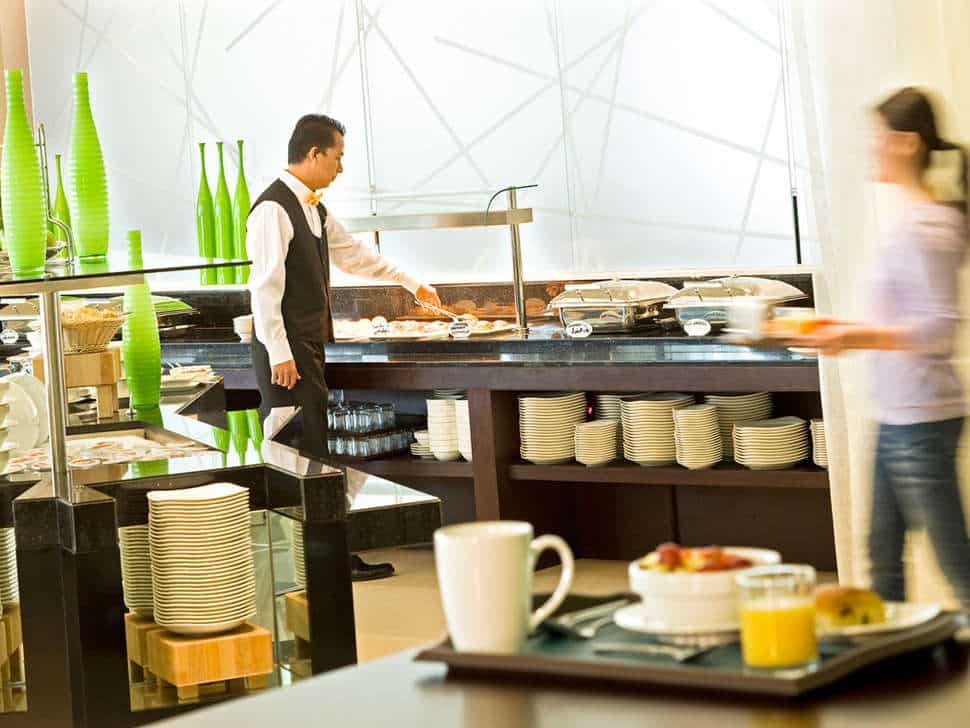 Restaurant van Hotel Ibis Dubai Deira City Center in Dubai, Verenigde Arabische Emiraten