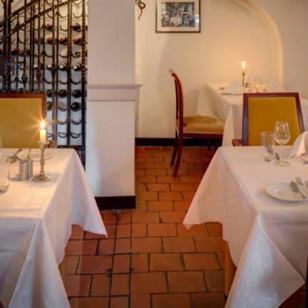 Restaurant van Kasteel de Essenburgh in Hierden, Veluwe, Gelderland