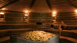 Sauna van Wellness Resort Elysium in Bleiswijk, Zuid-Holland