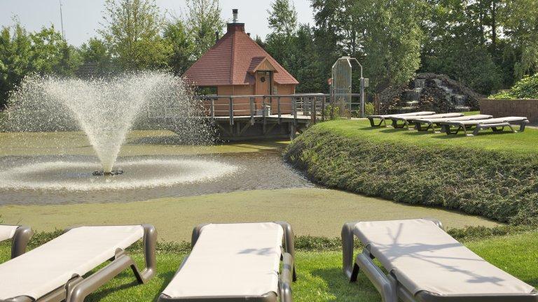 Saunacomplex van Wellness en Beauty de Woudfennen in Joure, Friesland