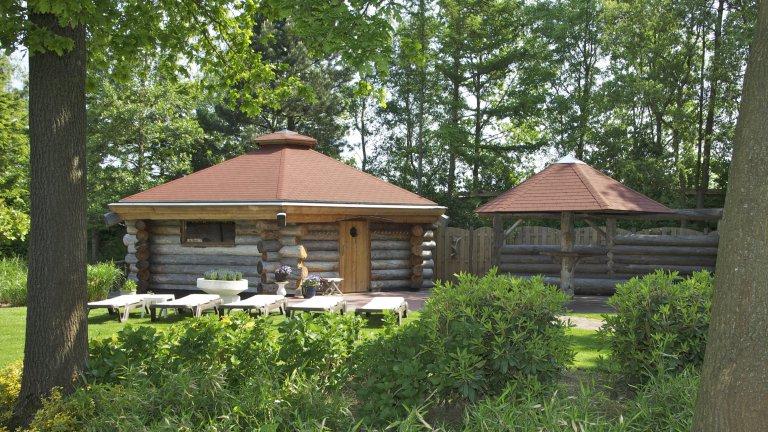 Sauna's van Wellness en Beauty de Woudfennen in Joure, Friesland