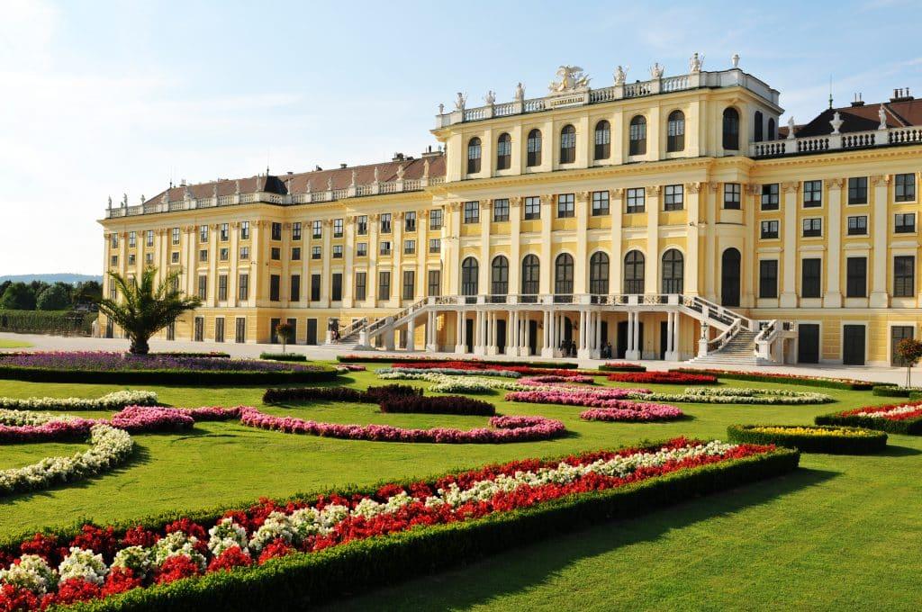 Schönbrunn paleis in Wenen, Oostenrijk
