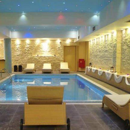 Spa van Rimondi Grand Resort & Spa in Stavromenos, Kreta
