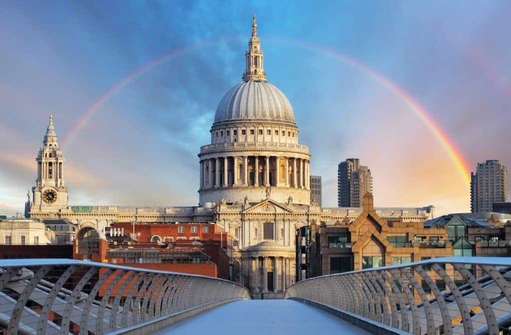 St Paul's Cathedral in Londen, Engeland