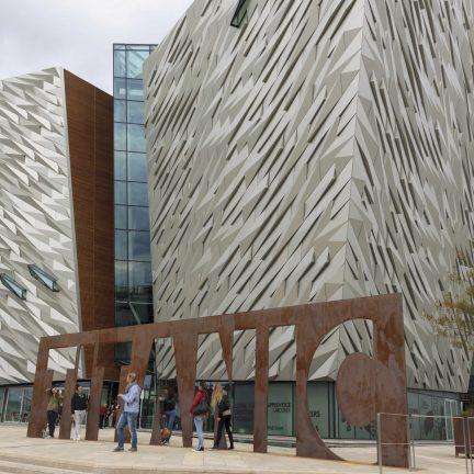 Titanic Museum in Belfast, Noord-Ierland
