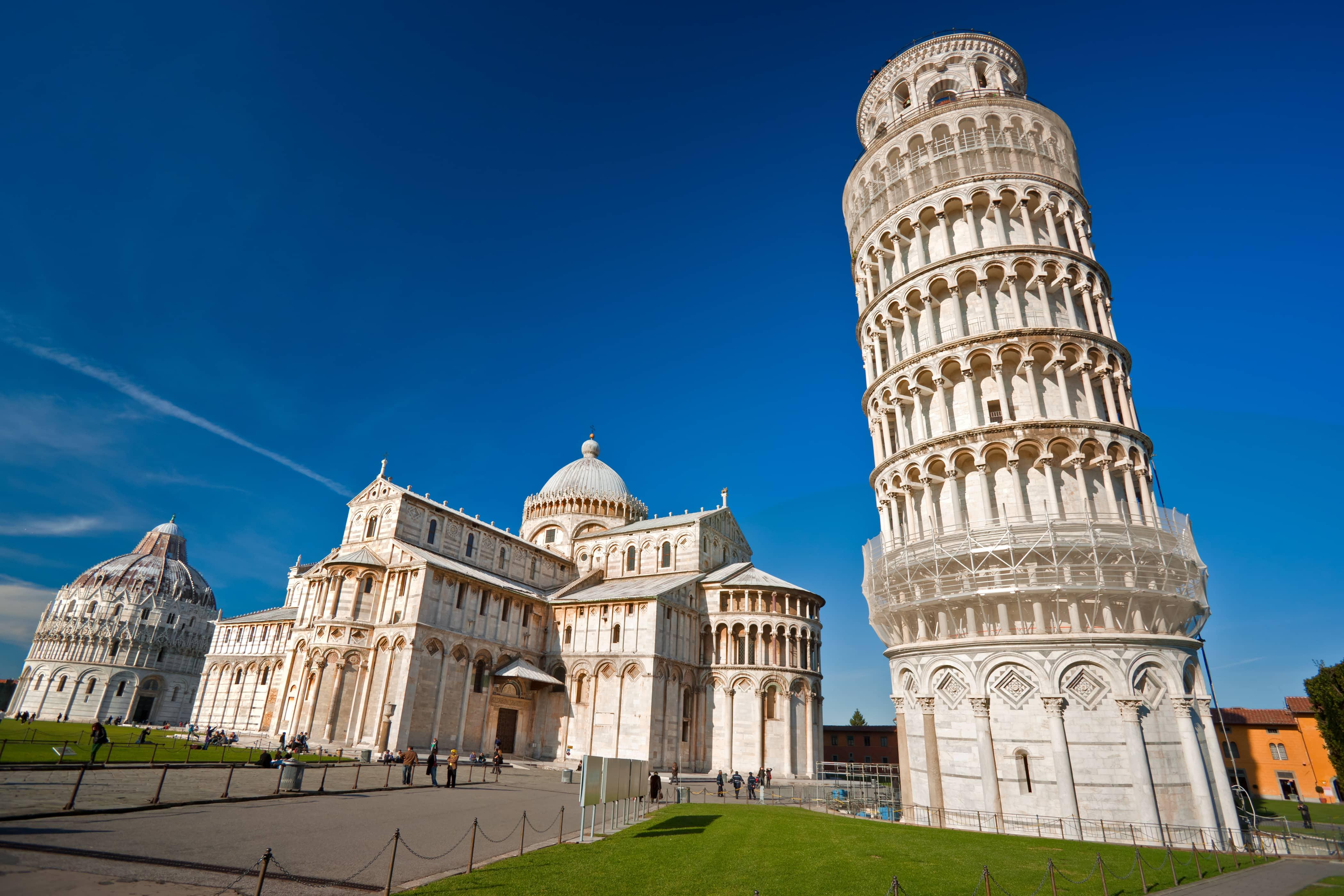 Toren van Pisa in Italië