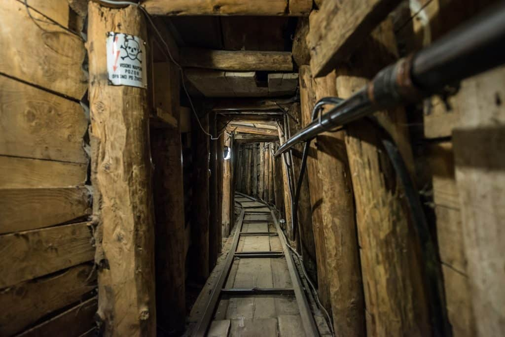 Tunnel in Sarajevo, Bosnië en Herzegovina