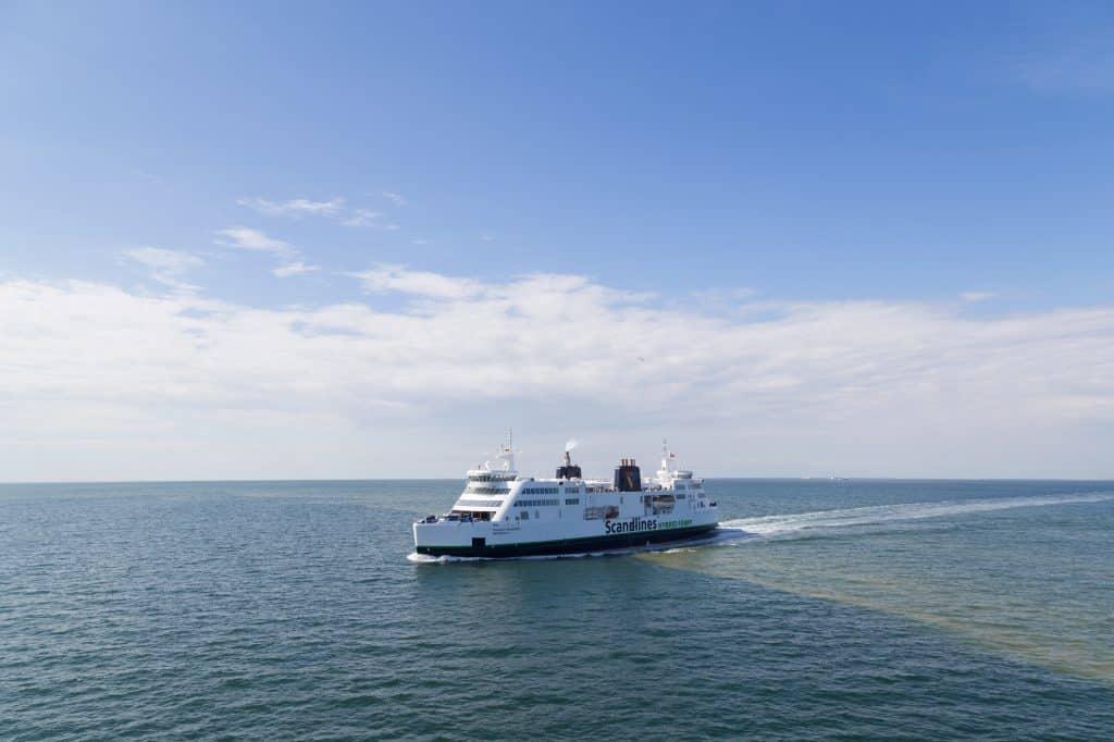 Veerboot tussen Puttgarden en Rødby