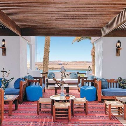 Zitplekken in Hotel Marina Lodge in Marsa Alam, Egypte