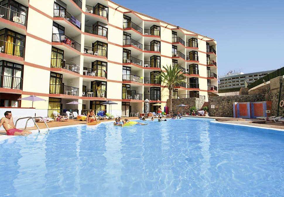 Zwembad van Appartementencomplex Guinea in Playa del Inglés, Gran Canaria