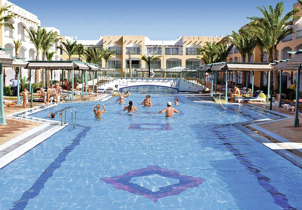 Zwembad van Bel Air Azur Resort in Hurghada, Egypte