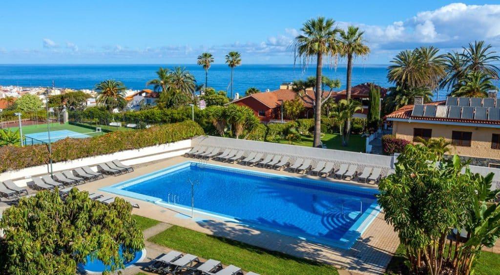 Zwembad van Hotel Weare La Paz in Puerto de la Cruz, Tenerife
