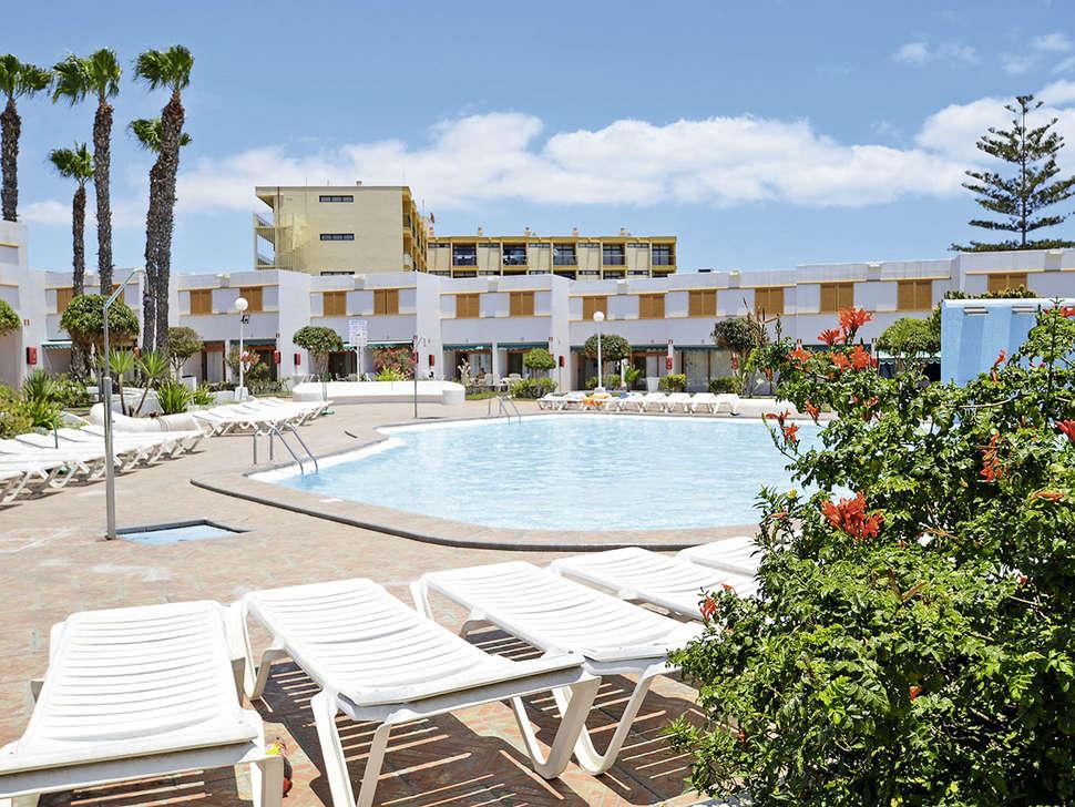 Zwembad van Las Brisas in Playa del Ingles, Gran Canaria